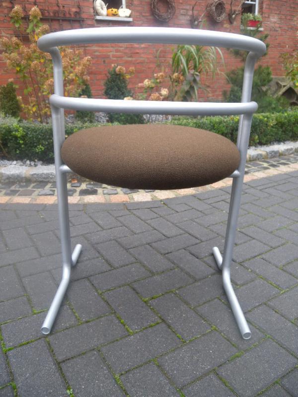 Selten thonet s30 stahlrohr stuhl chair 1950 design h v for Design stuhl freischwinger piet 30