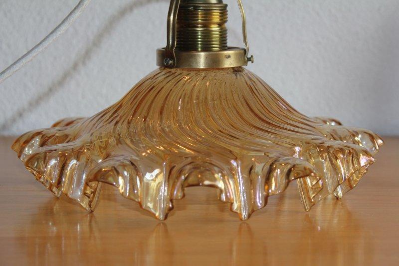 antike jugendstil lampe deckenlampe gewicht seltener glas. Black Bedroom Furniture Sets. Home Design Ideas