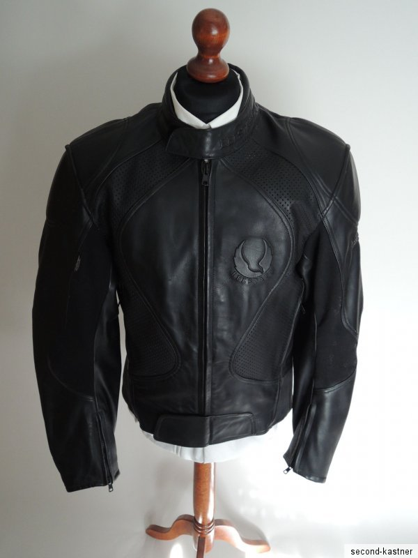 belstaff herren motorrad jacke lederjacke motorradjacke gr 54 l xl bikerjacke ebay. Black Bedroom Furniture Sets. Home Design Ideas