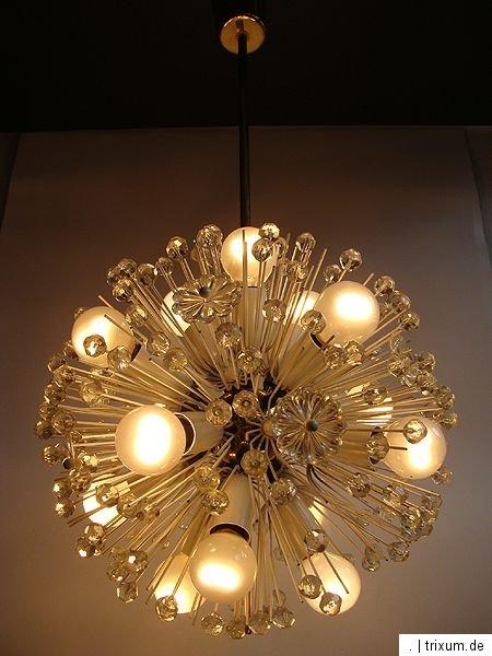 lampe emil stejnar wien nikoll sputnik pusteblume snowball. Black Bedroom Furniture Sets. Home Design Ideas
