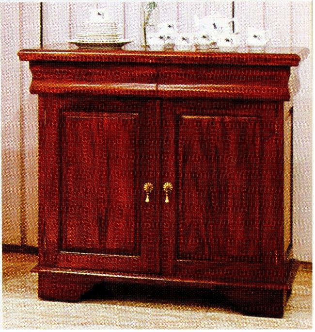 schrank buffet sideboard massiv mahagoni kolonialstil ebay. Black Bedroom Furniture Sets. Home Design Ideas