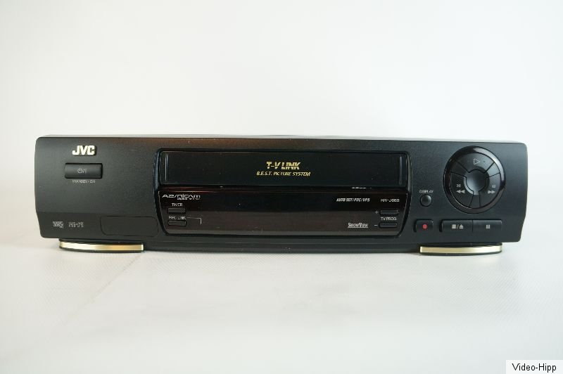 jvc hr j668 vhs recorder rekorder videorekorder gecheckt gutes ger t hifi ebay. Black Bedroom Furniture Sets. Home Design Ideas