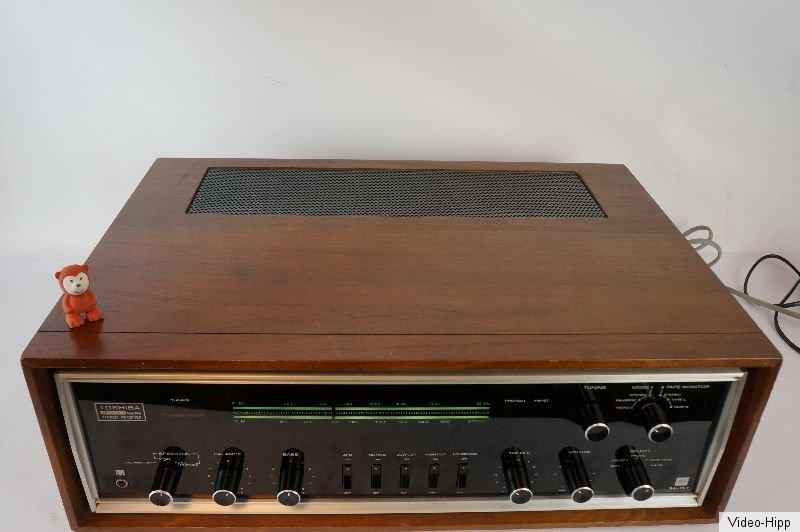 toshiba sa 15y vintage receiver top gecheckt design rar selten top 2x30 watt ebay. Black Bedroom Furniture Sets. Home Design Ideas