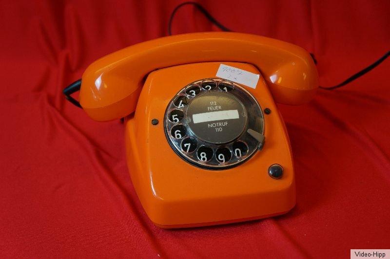 telefon orange kult vintage 70er jahre stylisch post fetap 615 1 w hlscheibe zeitreise. Black Bedroom Furniture Sets. Home Design Ideas