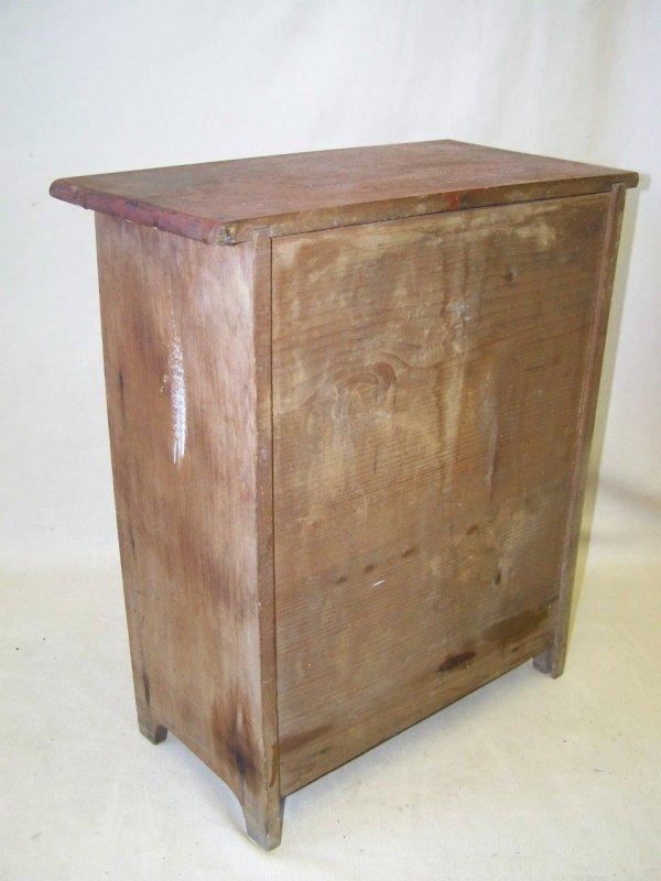 alter schubladenschrank schieberschrank schuhputzschrank holzschrank antik ebay. Black Bedroom Furniture Sets. Home Design Ideas