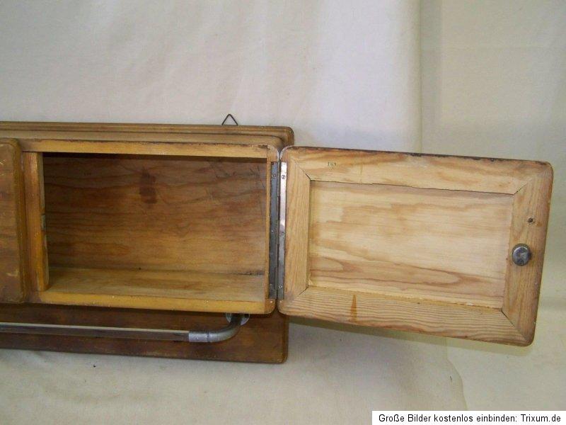 sublime ancien tag re de cuisine placard bois porte serviette meuble cuisine ebay. Black Bedroom Furniture Sets. Home Design Ideas