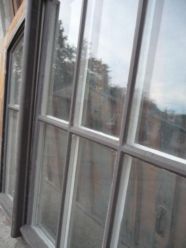 gro es rundbogenfenster dreifl gelig 135x175 fenster holz sprossenfenster antik ebay. Black Bedroom Furniture Sets. Home Design Ideas