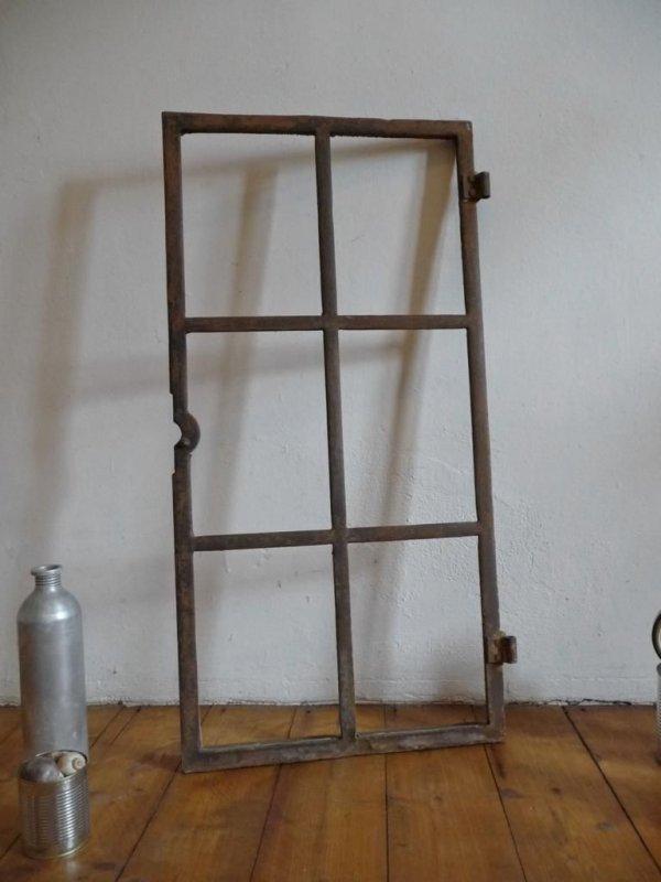 Eisenfenster gussfenster alt antik sprossenfenster bilderrahmen industriefenster ebay - Sprossenfenster alt ...