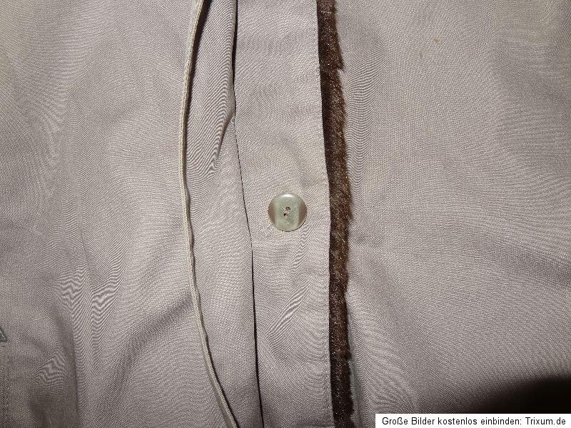 grauer damen mantel wintermantel valmellne jolipel m 21 42 pelz mantel fell ebay. Black Bedroom Furniture Sets. Home Design Ideas