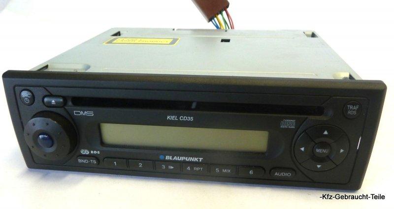 smart fortwo 0 7 450 radio blaupunkt kiel cd 35 ebay. Black Bedroom Furniture Sets. Home Design Ideas