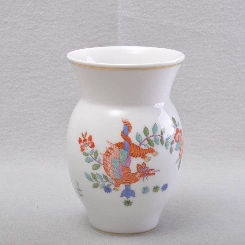 meissen chinois dragon et cigogne vase vase pour fleurs 1er choix ebay. Black Bedroom Furniture Sets. Home Design Ideas