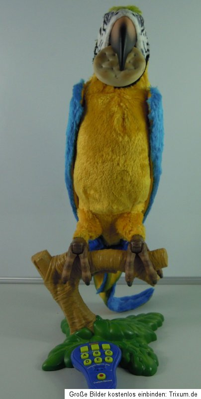 Hasbro furreal friends sprechender papagei top mit