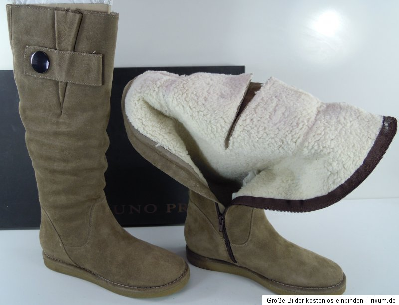 Aktuelle Damen Stiefel Schuhe Wester Style Used Boots 4017 Schwarz 37