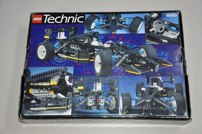 lego technic 8880 super car voiture de course de 1994 avec neuf dans sa bo te et mode d 39 emploi. Black Bedroom Furniture Sets. Home Design Ideas