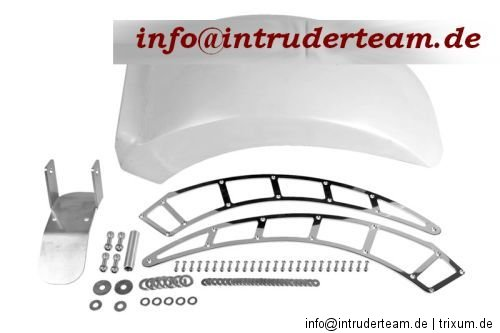 Fender Heckumbau rear fender BIG GFK  bis 250mm Yamaha XV1600