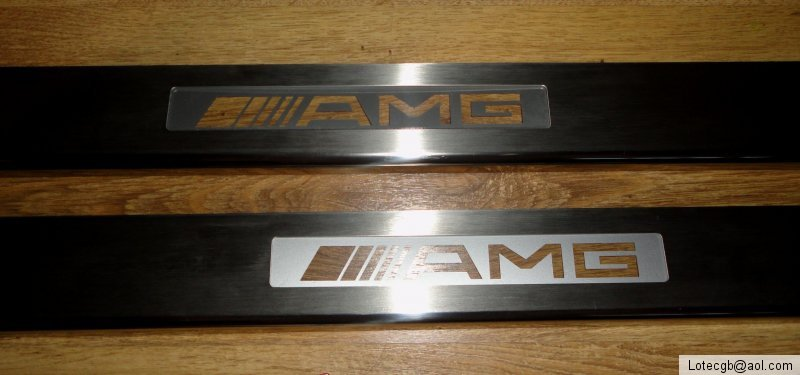 Mercedes benz clk w209 2 pc amg brabus mercedes benz for Mercedes benz door sill