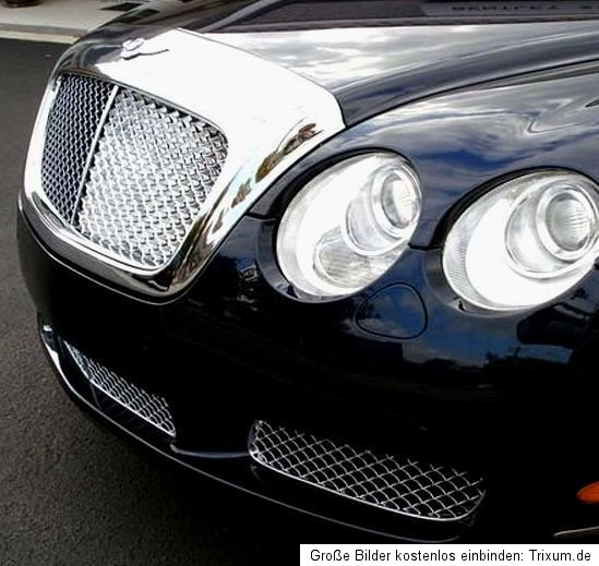 2006 Bentley Flying Spur: Bentley GT GTC Flying Spur Chrome Grill 2004-2009 Complete