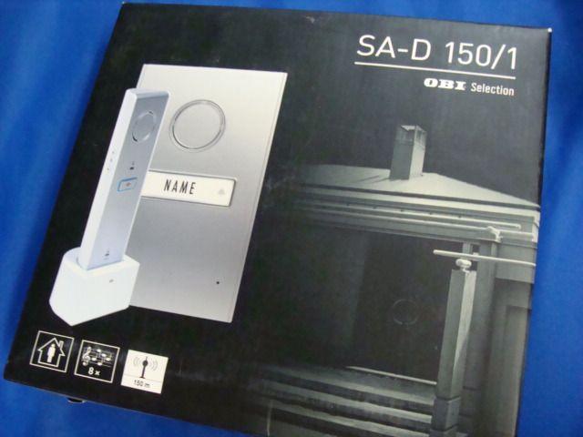 obi selection sa d 150 1 funk t rsprechanlage modell 302050 neu ebay. Black Bedroom Furniture Sets. Home Design Ideas
