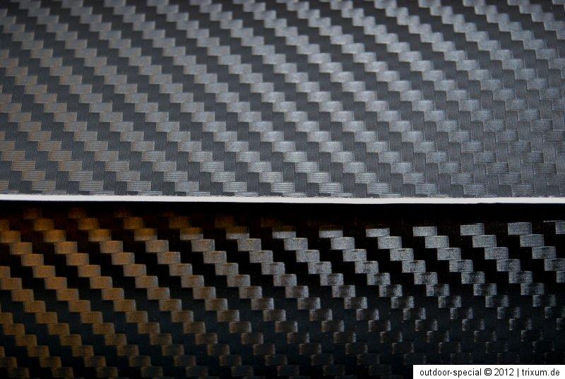 carbonfolie carbon folie alu geb rstet optik auto bike. Black Bedroom Furniture Sets. Home Design Ideas