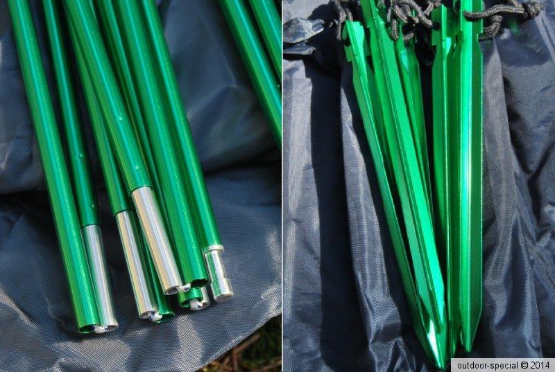 Zelt Im Sand Befestigen Ohne Heringe : Tunnelzelt tarp everest grün maipo personen