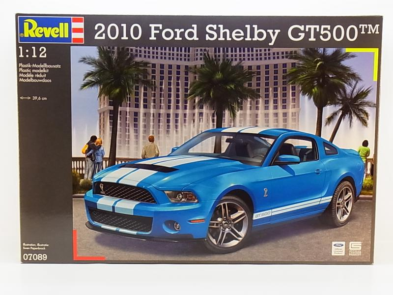 lot 32624 revell 07089 2010 ford mustang shelby gt500 1. Black Bedroom Furniture Sets. Home Design Ideas