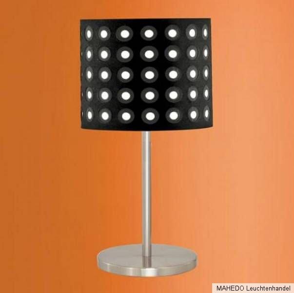 tischleuchte tischlampe schirm lampe edi light 60w e27. Black Bedroom Furniture Sets. Home Design Ideas