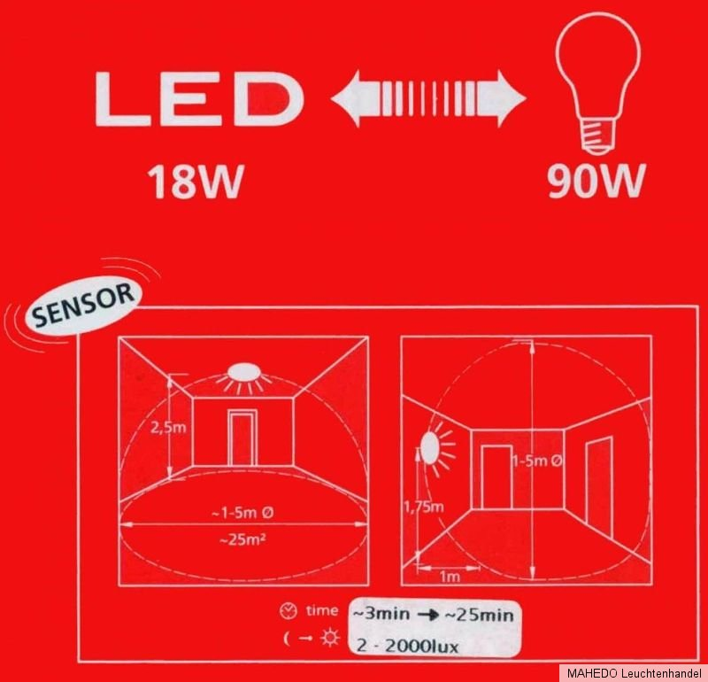 led deckenlampe wandlampe bora 2 glas wei eckig flach bewegungsmelder sensor ebay. Black Bedroom Furniture Sets. Home Design Ideas