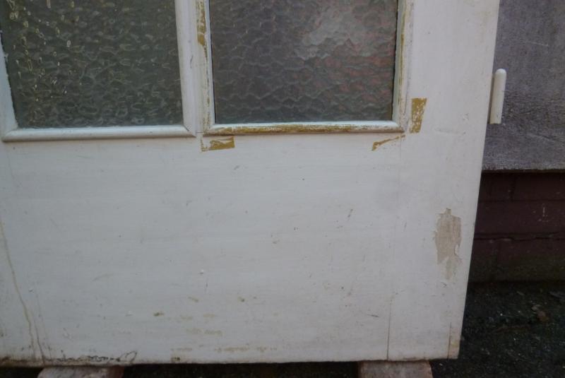 alte t r zimmert r holzt r mit glas ca 83 8 cm x ca 211. Black Bedroom Furniture Sets. Home Design Ideas