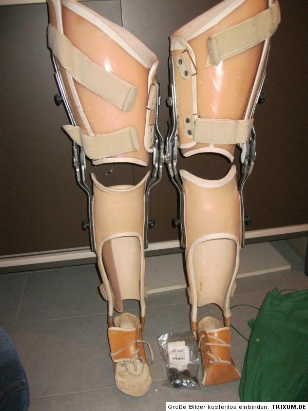 1 Paar Orthesen Beinorthesen Beinprothese mit