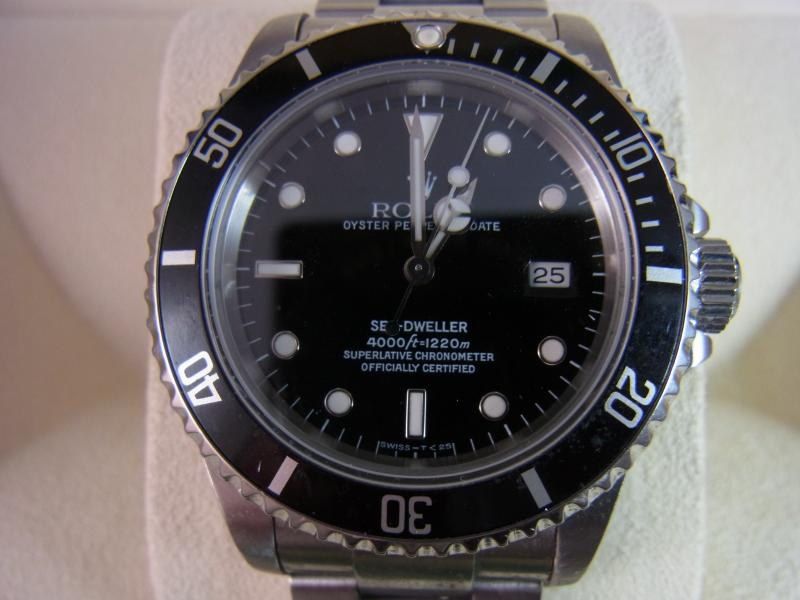 rolex sea dweller stahl rechnung top ebay. Black Bedroom Furniture Sets. Home Design Ideas
