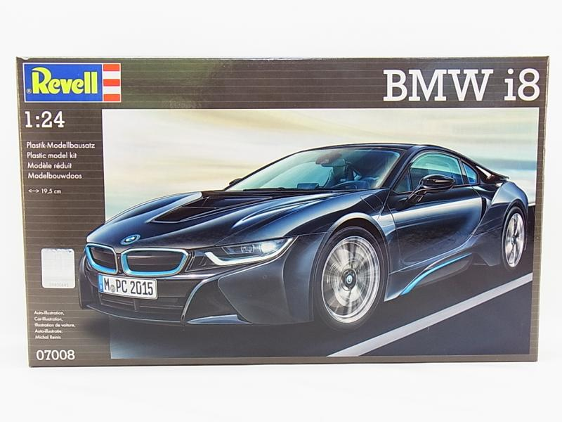 lot 31013 revell 07008 bmw i8 hoch detaillierter 1 24. Black Bedroom Furniture Sets. Home Design Ideas