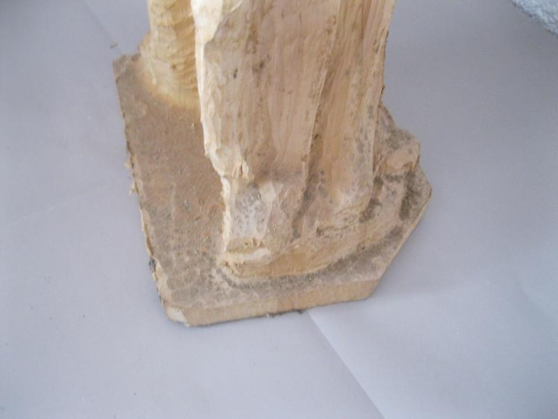 schnitzrohling bischof mit kirche hl ludger liudger 85cm lindenholz schnitzen ebay. Black Bedroom Furniture Sets. Home Design Ideas