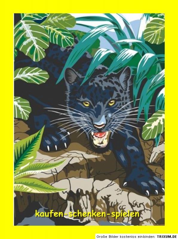 Related pictures malen nach zahlen leopard inkl farben und pinsel