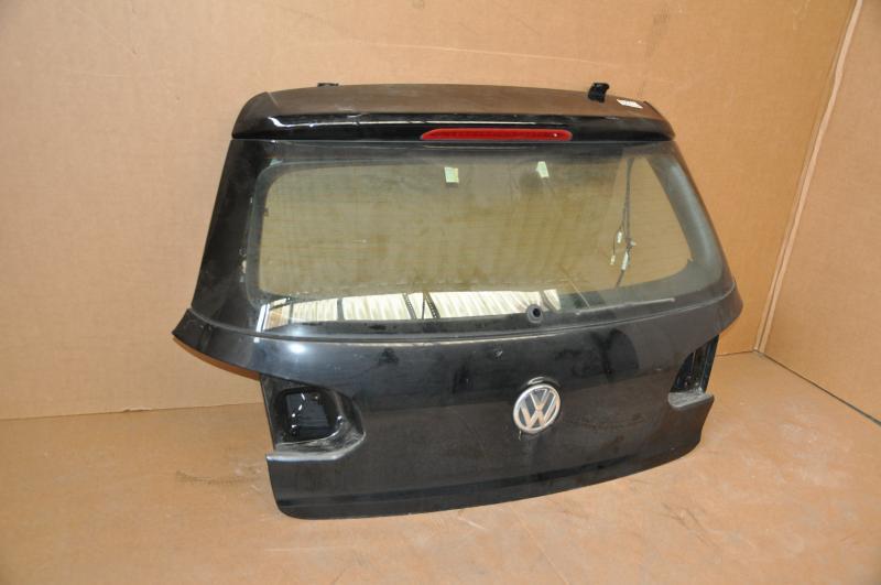 vw golf 6 heckklappe kofferraumdeckel heckdeckel schwarz. Black Bedroom Furniture Sets. Home Design Ideas