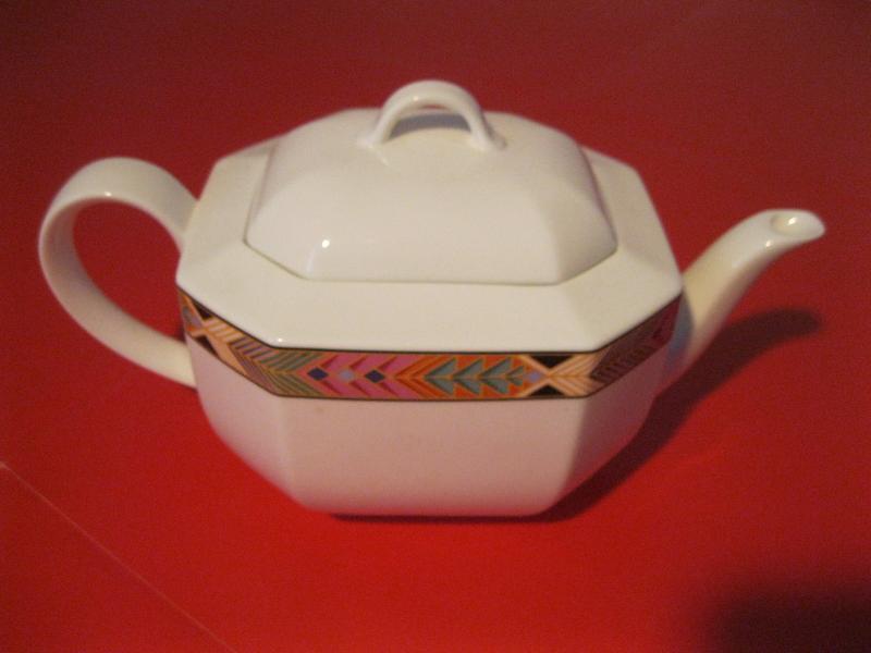 villeroy boch cheyenne teekanne mit deckel bone china porzellan v b ebay. Black Bedroom Furniture Sets. Home Design Ideas