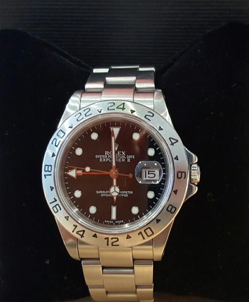 rolex explorer black stahl box rechnung ebay. Black Bedroom Furniture Sets. Home Design Ideas