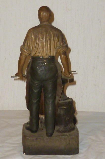 Gartenweg Keramik : ... Bismarck Figur Figurine Skulptur Plastik Ton Keramik 1.WK Büste 36cm