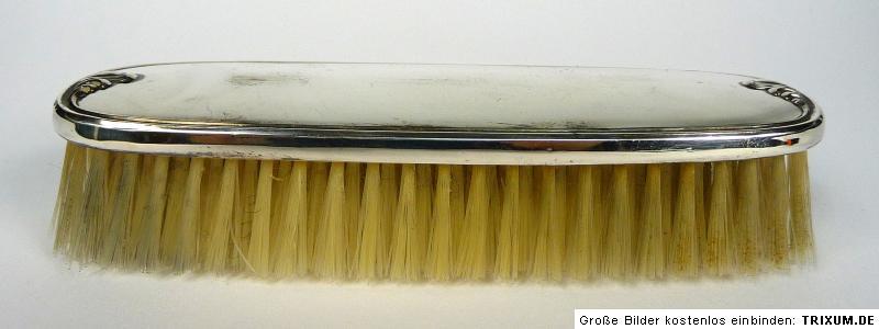 Reiseset espejo cepillo plata ebay for Espejo y cepillo antiguo