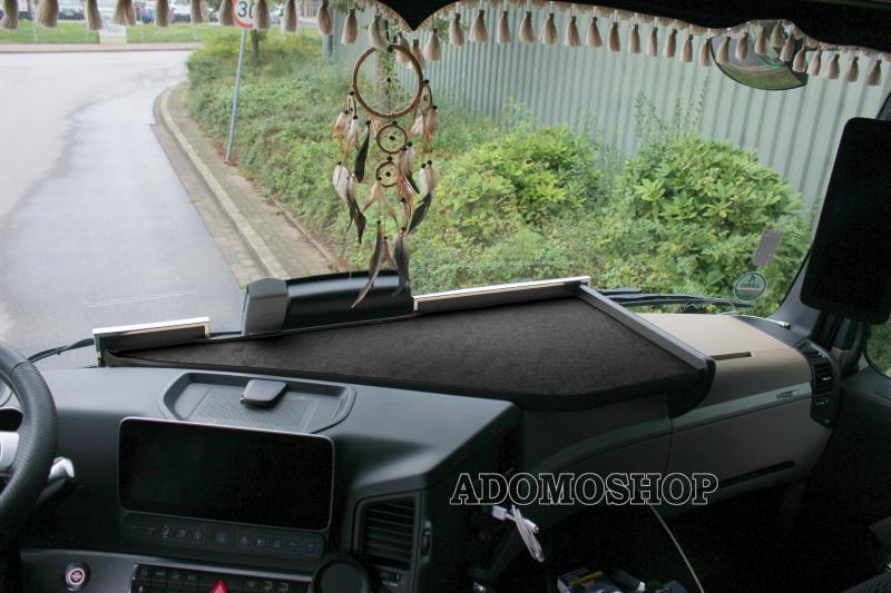 LKW Mercedes Benz Actros MP5 Line Space Passform Ablagetisch Armaturenablage