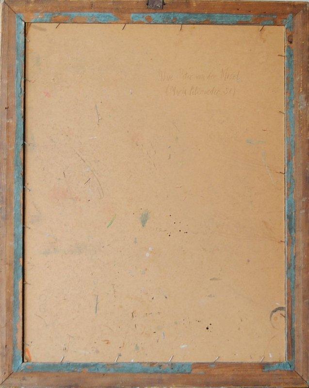 Professor Erich Kraemer Trier Portrait  U00d6lgem U00e4lde 82 X 65