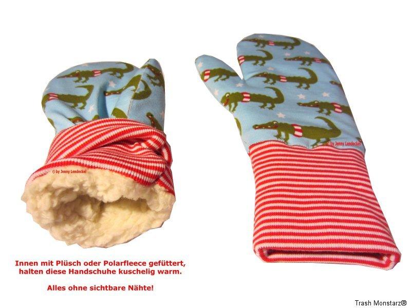 Handschuhe, Fäustlinge selber nähen, Schnittmuster und Anleitung | eBay