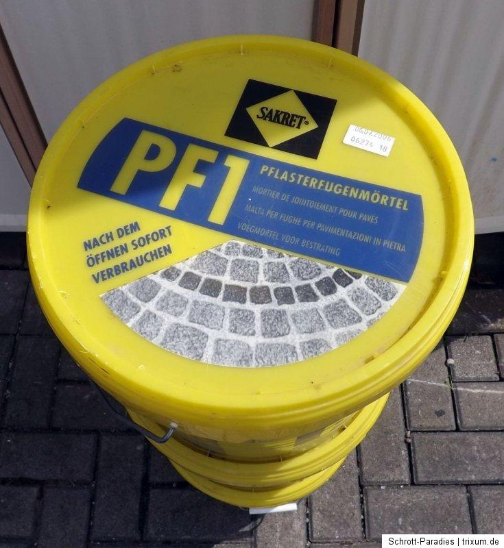 Sakret pflasterfugenmörtel pf 1 preis