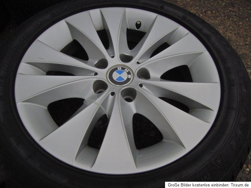 BMW E60 E61 Alufelgen Felgen Goodyear Eagle Winterreifen 225/50 17