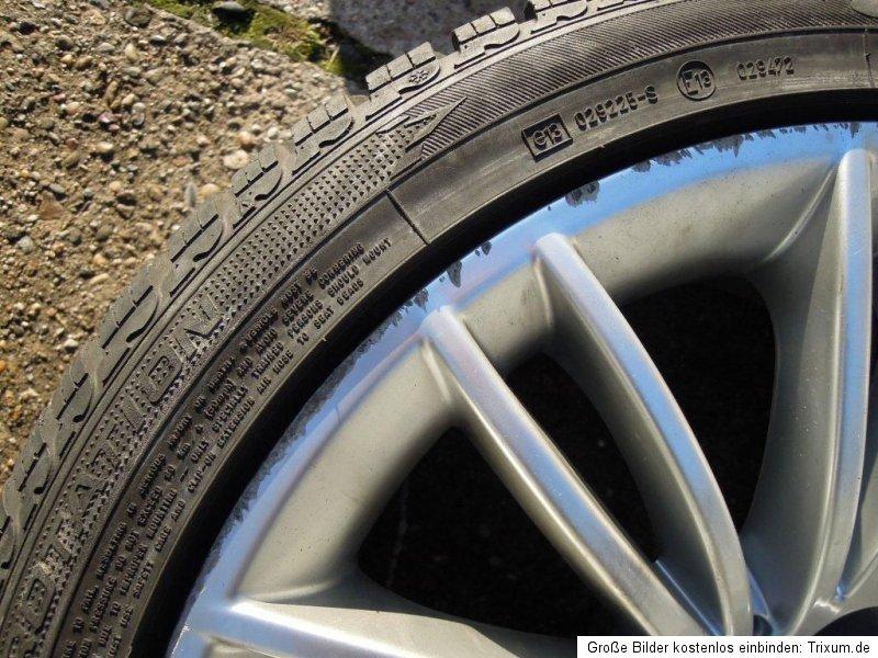 BMW 5er E60 E61 ROD Alufelgen Felgen Goodyear Winterreifen 245/40 18
