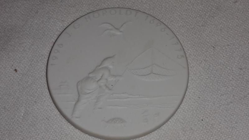 Bildnis der Frederike Porzellan Meissen Meißen Medaille Plakette Schadow J.G