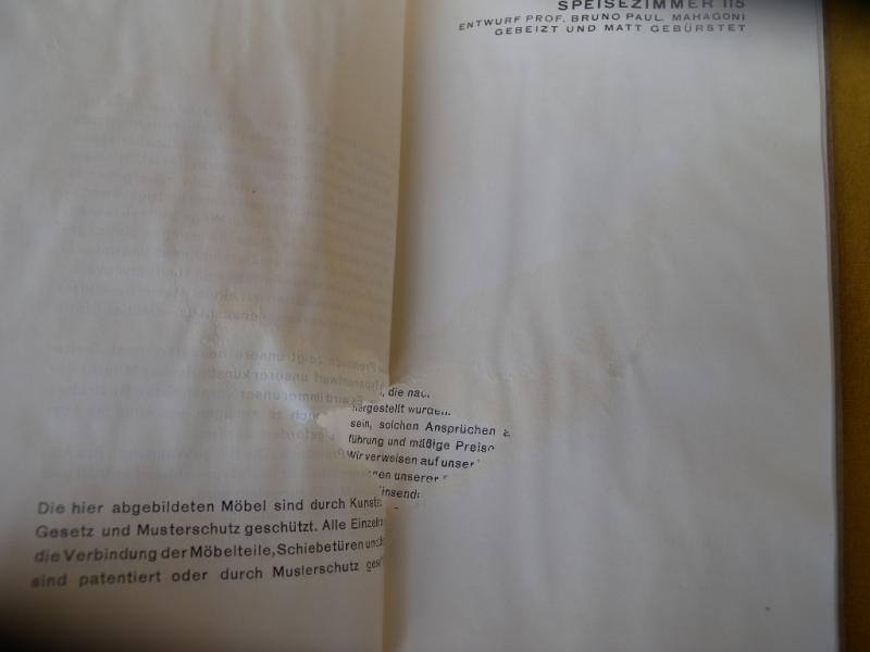Deutsche Werksttten Hellerau Mnchen Berlin Katalog