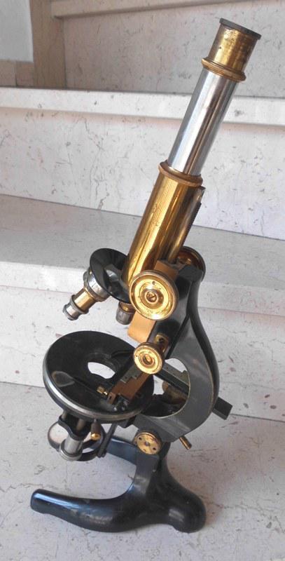 w h seibert wetzlar mikroskop aus messing mit koffer und zubeh r von 1923 ebay. Black Bedroom Furniture Sets. Home Design Ideas