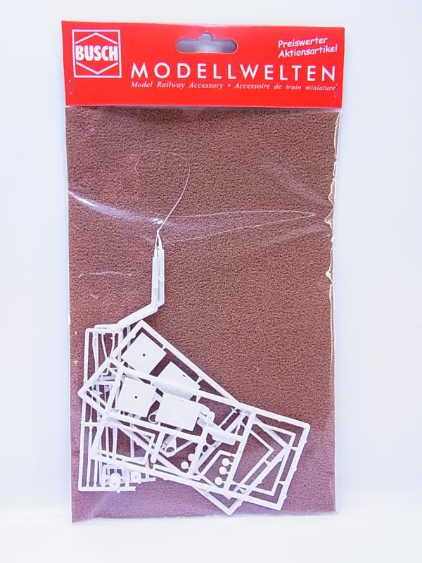 LOT 51523Busch H0 9775 Bolzplatz Bausatz Modelleisenbahn 1:87  NEU in OVP