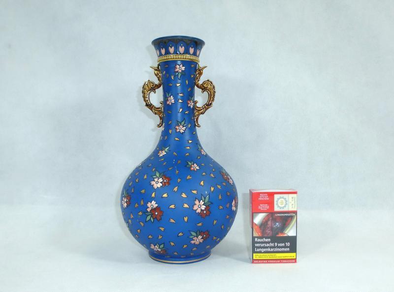 large rare grooved vase villeroy boch mettlach 1889 ebay. Black Bedroom Furniture Sets. Home Design Ideas