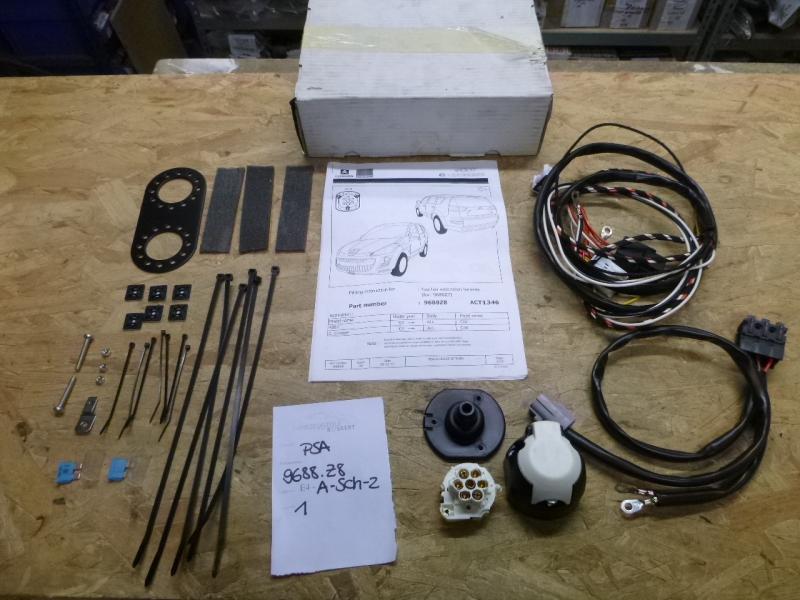 Elektrosatz Set kpl EBA NEU inkl Anhängerkupplung abnehmbar FORD C-Max